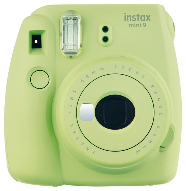 Fujifilm Instax Mini9 Sofortbildkamera Lime Green