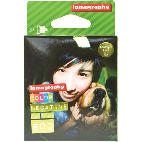 Lomography Color 800 120 - 3er Packung